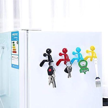 Witmoving, imanes para refrigerador, con forma de humano, potentes ...