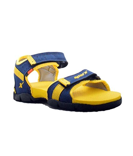 Sparx Boy's Blue and Yellow Sandals (SS