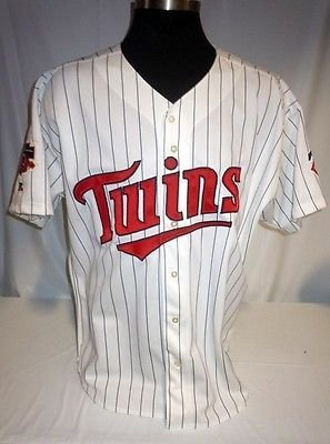 Minnesota Twins Vintage Authentic Russell Home Jersey for sale  Delivered anywhere in Canada