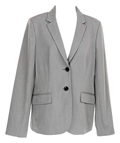 Blazer J Crew - J Crew Factory Womens Work Blazer All Season Wear to Work 8 J4477 Grey
