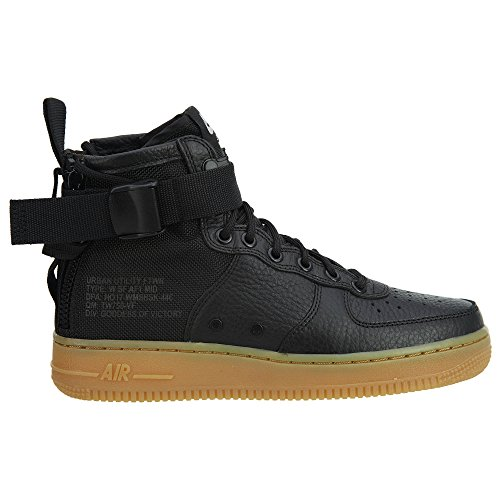 Black Grey Vast AF1 Brown Grey Nike SF W Light gum Mid Vast Black 8qA6Aw