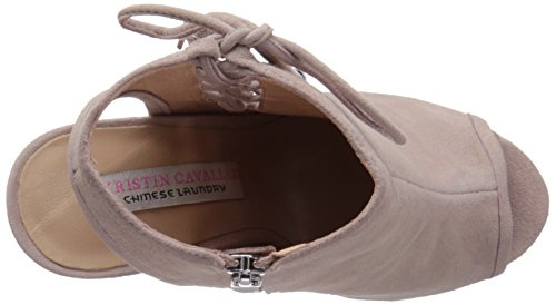 Chinese Laundry Kristin Cavallari Kvinner Legende Peep Toe Bootie Grå Semsket