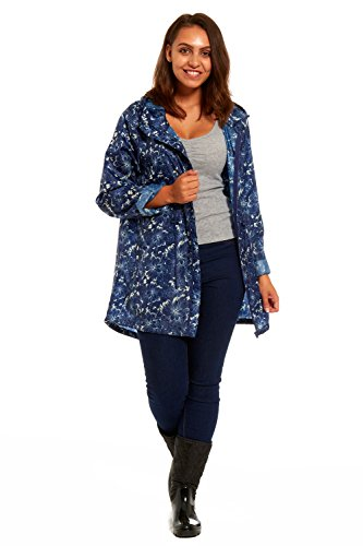 RainyDays - Abrigo impermeable - para mujer Floral Lines - Ella Raincoat