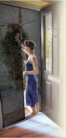 Innovativ Insektenvorhang mit Magnetverschluß, Insektenschutz: Amazon.de  OT51