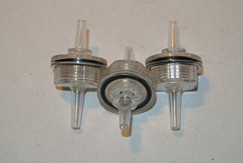 - J-Specialty 3 pcs Replacement 4mm Air Filter fits Profec B 15900011 Vacuum/Boost Gauge Air Filter Boost Controller EVC Profec A