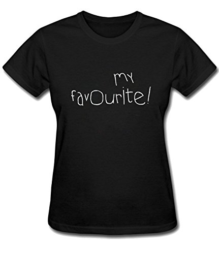 Yhc the best amazon price in savemoney yhc my favourite tee for womens xs black fandeluxe Images