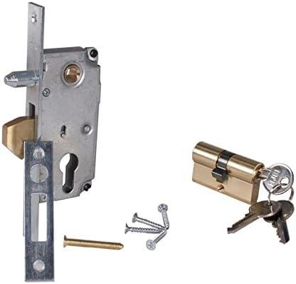Cerradura Cerradura de gancho para puerta corredera con cilindro ...
