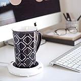 Salton Coffee Mug & Tea Cup/Mug Warmer, 1, White