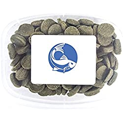 Aquatic Arts Algae Wafers - Sinking Food for Live Aquarium Shrimp, Fish (Pleco/Tetra), Snails, Bottom Feeders - High Protein Spirulina Blend - 6oz