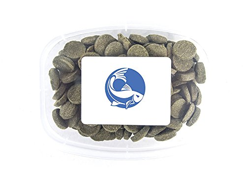 Aquatic Arts Algae Wafers - Sinking Food for Live Aquarium Shrimp, Fish (Pleco / Tetra), Snails, Bottom Feeders - High Protein Spirulina Blend - 6oz Brine Shrimp Algae