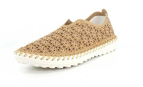Bernie Mev Women's TW83 Slip-On Flats Shoes (39 M EU/8.5-9 B(M) US, Nude)