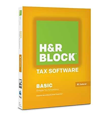 Amazon.com: H&R Block Tax Software Basic 2014: Software