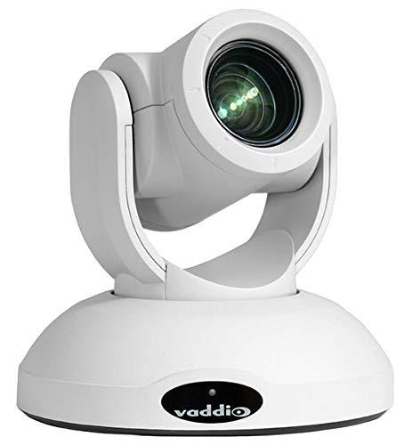 - Vaddio RoboSHOT 20 UHD, 4K PTZ Camera, White