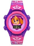 Paw Patrol Skye Flashing Lights Girls LCD Watch