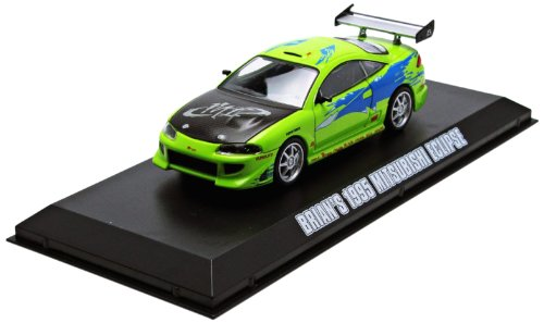 GreenLight Fast and Furious: The Fast and the Furious (2001) 1995 Mitsubishi Eclipse Car (1:43 Scale)