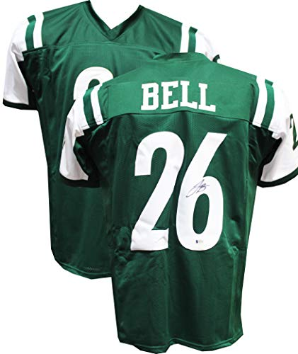 Authentic Le'Veon Bell Autographed Signed Custom Jersey (Beckett COA) - New York Jets RB