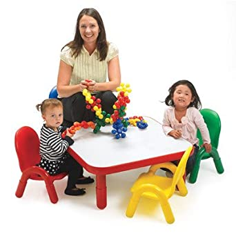 76c58aa83f82 Image Unavailable. Image not available for. Color  Angeles Toddler Table   Chair  Set ...