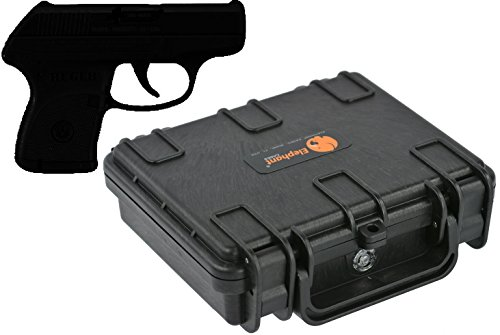 Elephant Concealed Carry Small / Mini Handgun Hard Case E090
