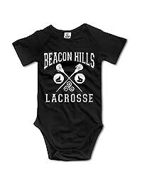 Black Baby's Beacon Hills Lacrosse Sleeveless Romper Jumpsuit