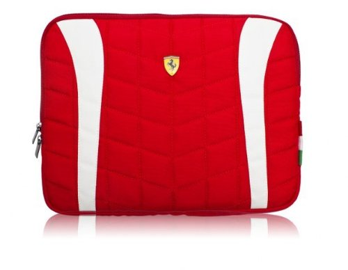 Officially Licensed Ferrari Scuderia 11″ Laptop Sleeve, Office Central