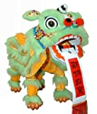 Lime Green Chinese Lion Dragon Marionette Puppet by Mandala Crafts