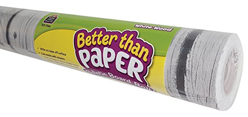 White Wood Better Than Paper Bulletin Board Roll from Teacher Created Resources