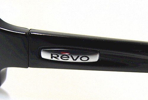 8d55110731 REVO Thrive RE4037 Sunglasses RE 4037 Black 819 J6 Polarized Shades   Amazon.co.uk  Clothing