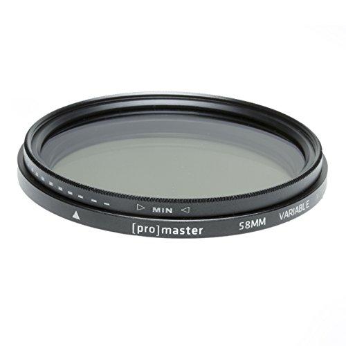 ProMaster 58mm Variable Neutral Density Filter (9517)