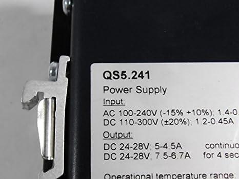 5-4,5A 24-28V PULS QS5.241 POWER SUPPLY AC100-240V Out