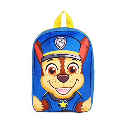 (Nickelodeon Paw Patrol Chase Blue Mini 12 Inch Backpack School Bag)