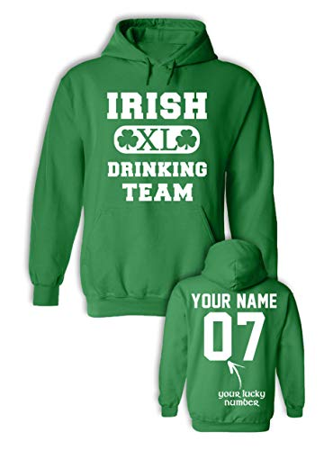 Irish Drinking Team St Patricks Day Shirts Men - St Paddys Day Sweatshirt - Drunk Tees ()