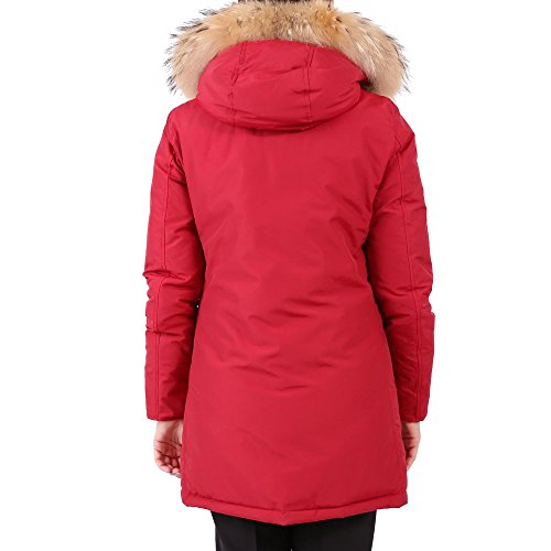Cotone Woolrich Cappotto Donna Wwcps2479cn03red Rosso ZtZqRrxdw