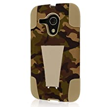 Empire MPERO IMPACT X Series Kickstand Case for Motorola Moto G - Retail Packaging - Hunter Camo