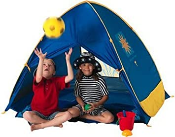 Pop Up Junior Cabana UV Beach sun Tent  sc 1 st  Amazon UK & Pop Up Junior Cabana UV Beach sun Tent: Amazon.co.uk: Toys u0026 Games