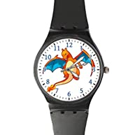 G-Store Pokemon Go Flying Charizard Classic Sport Watch with Black Band