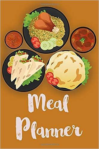 meal planner track plan your meals weekly 52 weeks food planner