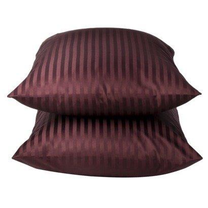 Fieldcrest® Luxury Damask Stripe 450 Thread Count Pillowcase - Purple - King Size