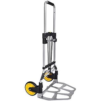 Amazon.com: Carretilla de mano plegable transportable ...