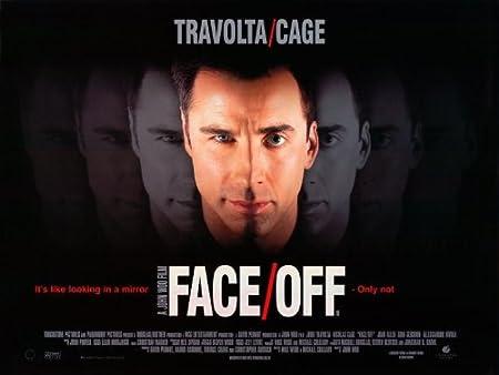 Face Off Cartel de película Movie Poster la figura de ancho ...