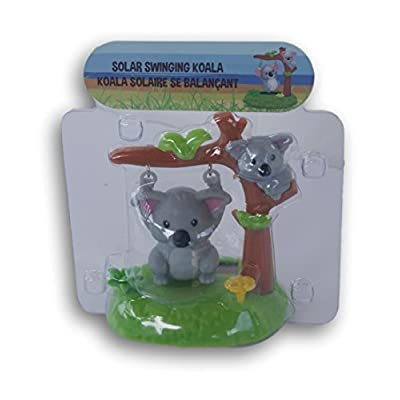 Greenbrier Miniature Solar Powered Swinging Koala - 3 x 4.25 Inches: Toys & Games