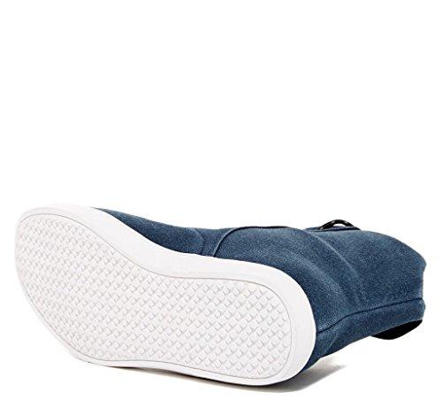 Steve Harvey Dotan Mens Fashion Vegan Vänliga Hög Topp Sneakers Marinen