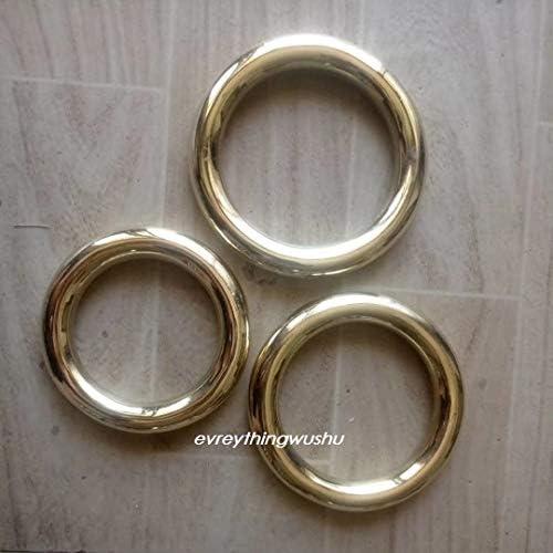 Everythingwushu Wushu Brass Forearm Training Rings Hong Quan Iron Rings One Piece Only