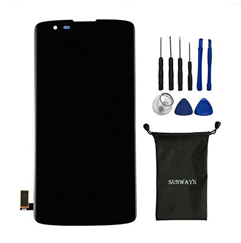 Sunways Display Touch Digitizer Screen for LG Phoenix 2 K8 K350N K350E K350DS Escape 3 K371 K373 - Glasses Phoenix Repair