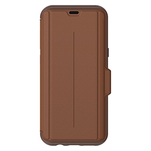 OtterBox STRADA SERIES for Samsung Galaxy S8+ ONLY – Retail Packaging – BURNT SADDLE (BURNT SADDLE/CHAPSHAIR LEATHER)