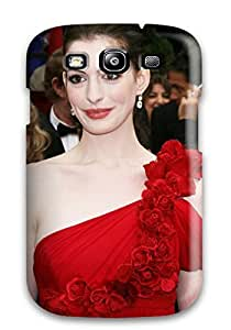 RtbBbHf7669mwYkm Case Cover Anne Hathaway For Computer Galaxy S3 Protective Case