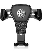 Autotelefoonhouder Voor Alfa Romeo Giulietta Mito Stelvio Giulia 147 156 159, 360 ° Rotatie Air Vent Mount Telefoonhouder, Modieus Uiterlijk En Eenvoudig Te Bedienen Accessoires Voor Rijhulp