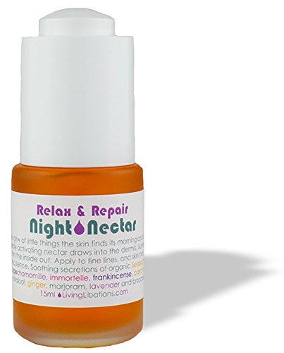 Living Libations - Organic / Wildcrafted Night Nectar Facial Oil (.5 fl oz / 15 ml)