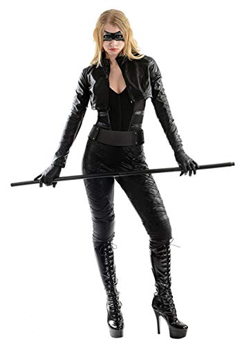 Charades Women's Licensed Black Canary Costume, As Shown, -