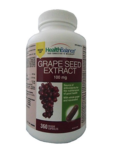 bottles HealthBalance Grape Extract veggie