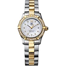 TAG Heuer Women's WAF1450.BB0814 Aquaracer Diamond Accented 18kt Two-Tone Watch